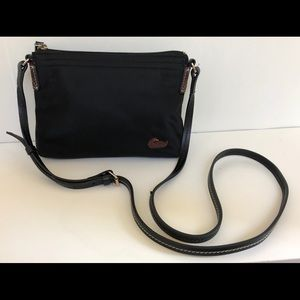 Dooney & Bourke Crossbody Pouchette - Black Nylon